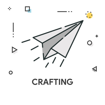 Tratar Icono De Línea De Color Ilustraciones Vectoriales, Clip Art ...
