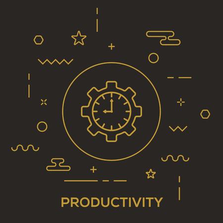 Productivity Concept Stok Fotoğraf - 89748087