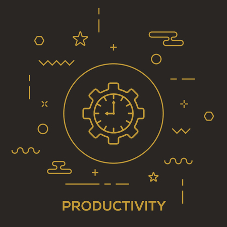 Productivity Concept Illustration