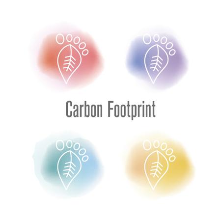 Carbon Footprint Concept