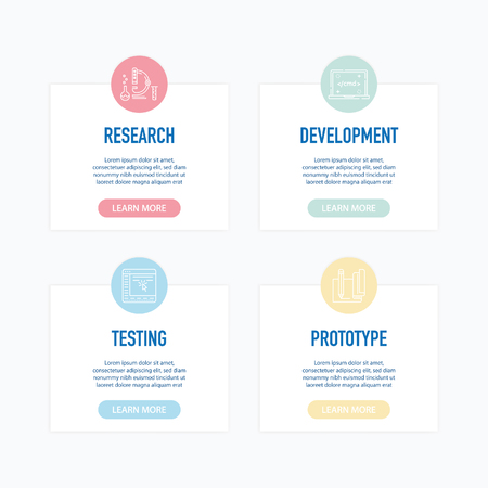 Software Development Infographic Icons