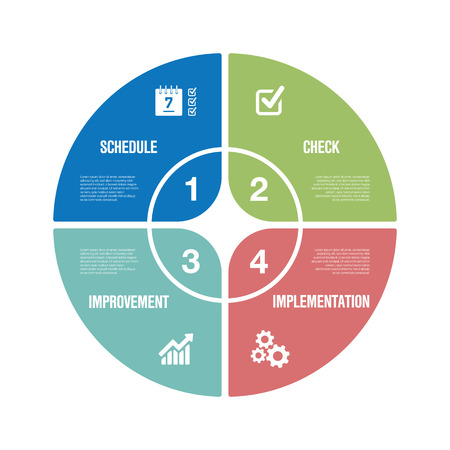 Action Plan Infographic Icon Set