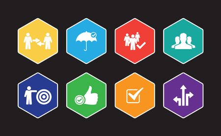 Trust Infographic Icon Set