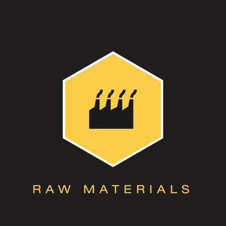 Raw Materials Icon