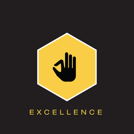 Excellence Icon Illustration