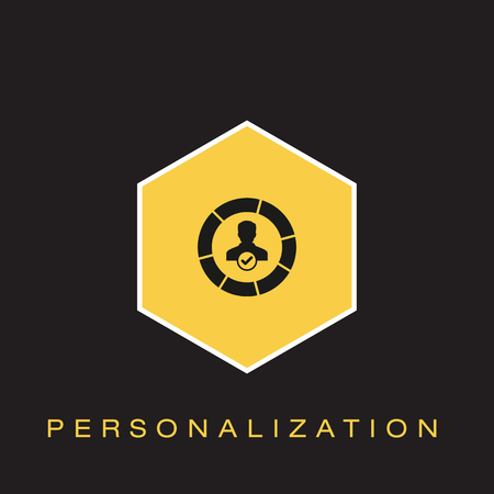 Personalization Icon Banque d'images - 102790553