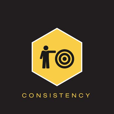 Consistentie Icoon
