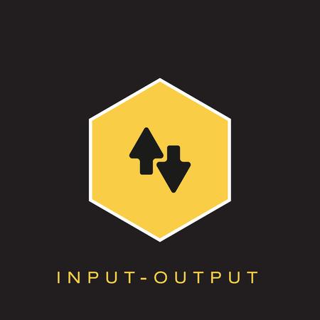 Input-Output Icon