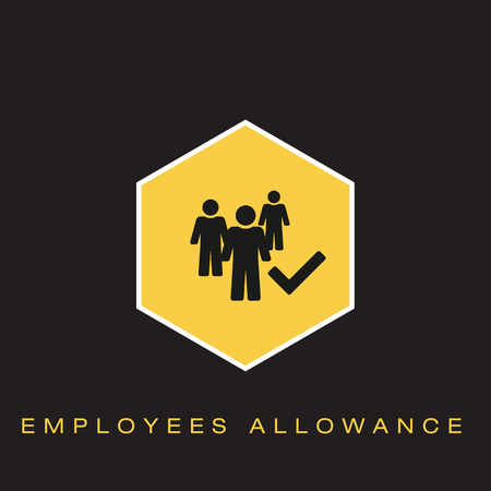 Employees Allowance Icon