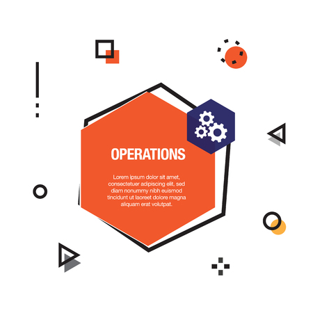 Operations Infographic Icon