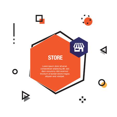 Store Infographic Icon