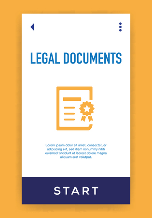 Legal Documents Icon