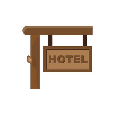 HOTEL SIGN FLAT ICON