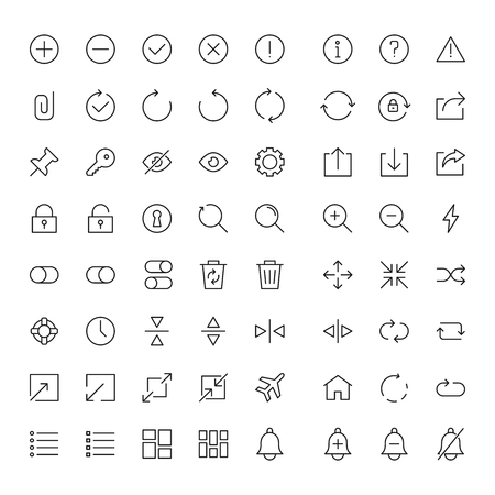 Essentials And Interface Icon Set
