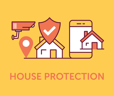 House Protection Icons
