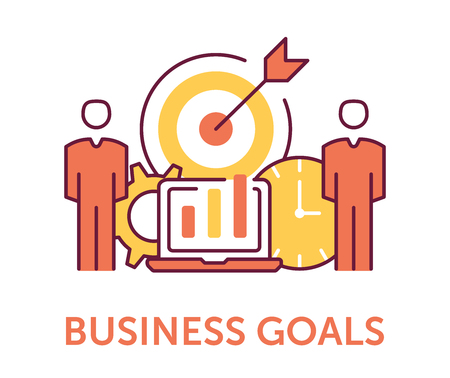 Business Goals Icons