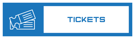 Tickets Icon Concept
