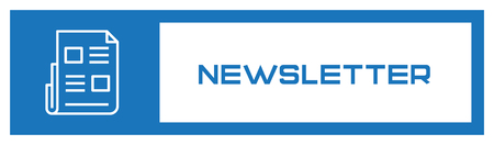 Newsletter Fill Icon Concept 向量圖像