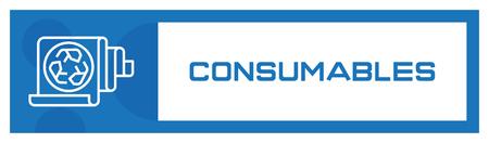 Consumables Icon Concept