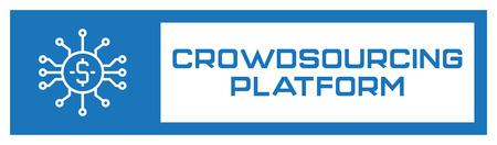 Crowdsourcing Platform Icon Concept