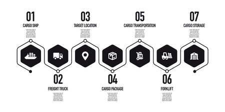 LOGISTICS CONCEPT ICON ISOLATED ON WHITE