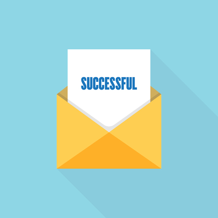 SUCCESSFUL LETTER MESSAGE