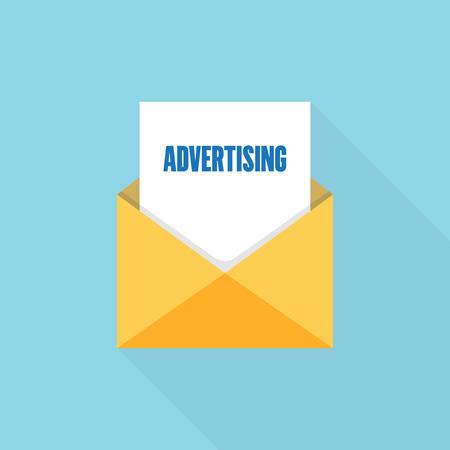 ADVERTISING LETTER MESSAGE