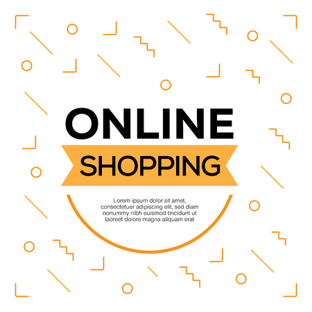 ONLINE SHOPPING Vectores