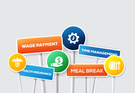 EMPLOYEE BENEFITS Illustration