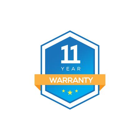 11 years warranty