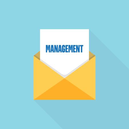 Management  letter message