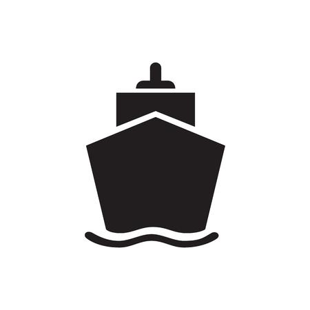 Cruise Tour icon concept
