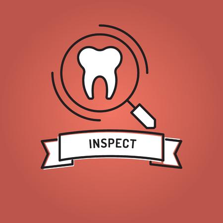 INSPECT LINE ICON SET