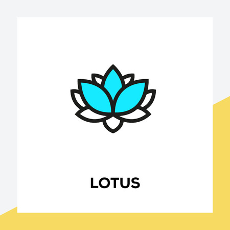LOTUS LINE ICON SET