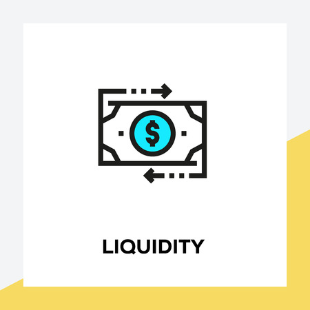 LIQUIDITY LINE ICON SET