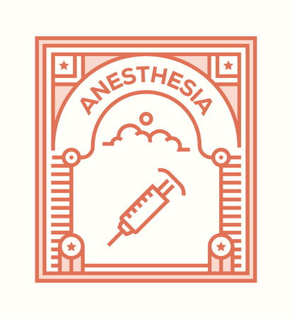 ANESTHESIA ICON CONCEPT
