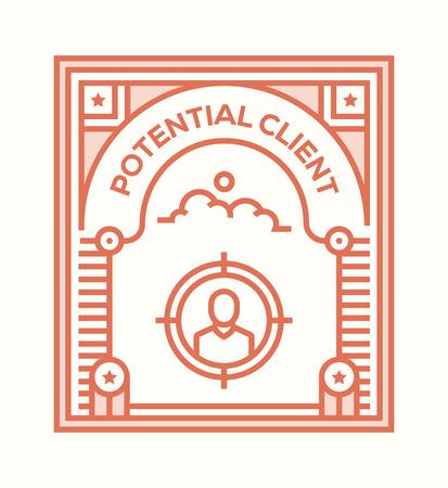 POTENTIAL CLIENT ICON CONCEPT