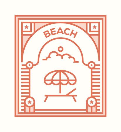 BEACH ICON CONCEPT