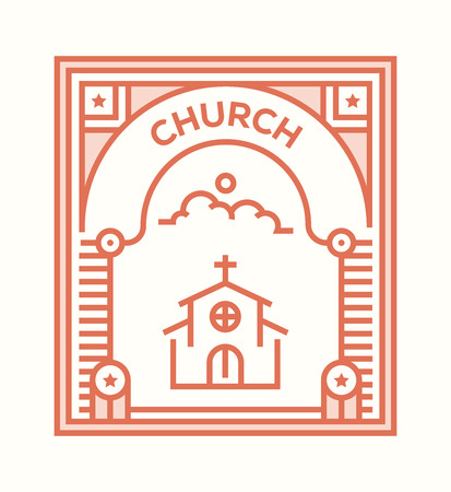 CHURCH ICON CONCEPT Foto de archivo - 116765551