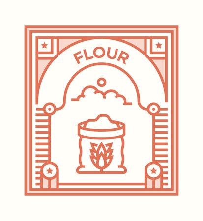 FLOUR ICON CONCEPT
