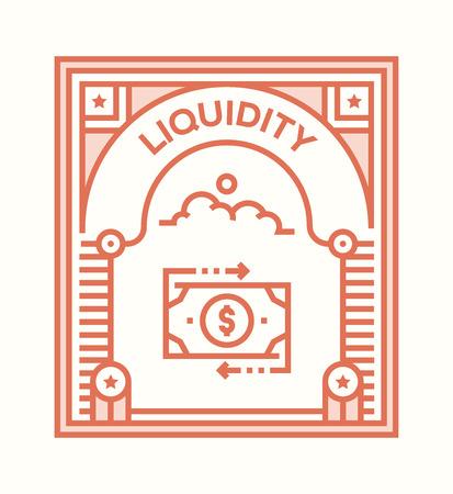 LIQUIDITY ICON CONCEPT