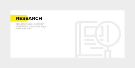 RESEARCH BANNER CONCEPT