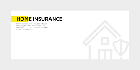 HOME INSURANCE BANNER CONCEPT