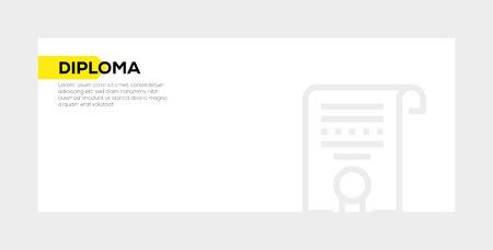 DIPLOMA banner concept