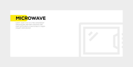 MICROWAVE banner concept