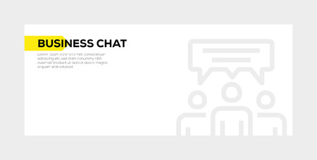 Business Chat banner concept