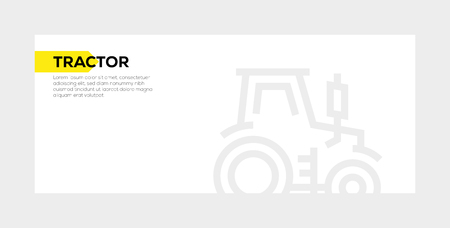 TRACTOR BANNER CONCEPT