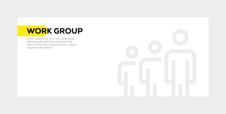 WORK GROUP BANNER CONCEPT