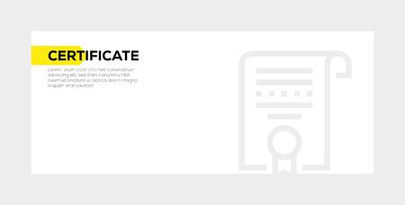 WEB OPTIMIZATION BANNER CONCEPT Ilustração