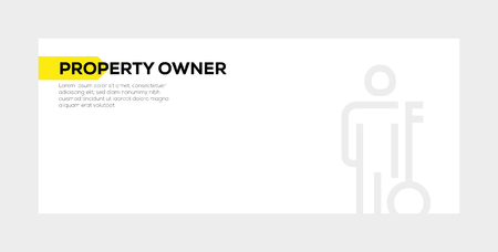 Property owner concept